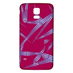 Background Vector Texture Pattern Samsung Galaxy S5 Back Case (white)