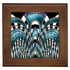 Abstract Art Design Texture Framed Tiles