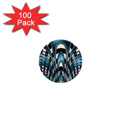 Abstract Art Design Texture 1  Mini Buttons (100 pack)