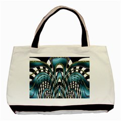 Abstract Art Design Texture Basic Tote Bag