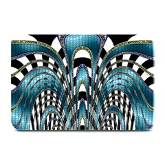 Abstract Art Design Texture Plate Mats