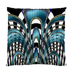 Abstract Art Design Texture Standard Cushion Case (one Side)