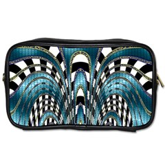 Abstract Art Design Texture Toiletries Bags 2 Side