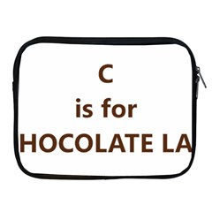 C Is For Choc Lab Apple iPad 2/3/4 Zipper Cases