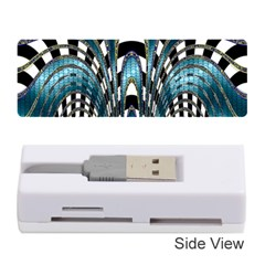 Abstract Art Design Texture Memory Card Reader (stick)