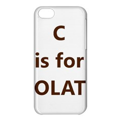 C Is For Choc Lab Apple iPhone 5C Hardshell Case