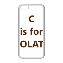 C Is For Choc Lab Apple iPhone 5C Seamless Case (White)
