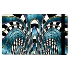 Abstract Art Design Texture Apple iPad 3/4 Flip Case