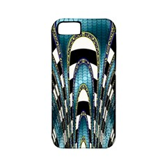 Abstract Art Design Texture Apple Iphone 5 Classic Hardshell Case (pc+silicone)