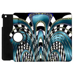 Abstract Art Design Texture Apple Ipad Mini Flip 360 Case