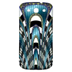 Abstract Art Design Texture Samsung Galaxy S3 S Iii Classic Hardshell Back Case