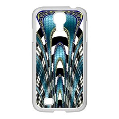 Abstract Art Design Texture Samsung Galaxy S4 I9500/ I9505 Case (white)