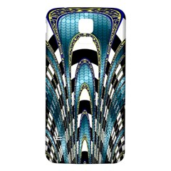 Abstract Art Design Texture Samsung Galaxy S5 Back Case (white)