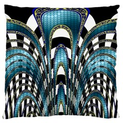 Abstract Art Design Texture Standard Flano Cushion Case (One Side)