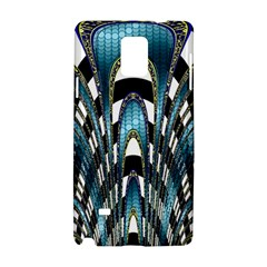 Abstract Art Design Texture Samsung Galaxy Note 4 Hardshell Case