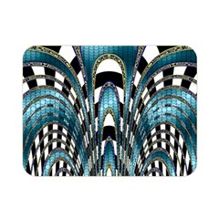 Abstract Art Design Texture Double Sided Flano Blanket (Mini)