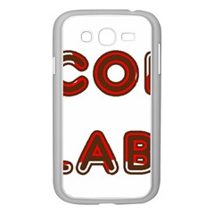 Choc Lab Canadian Flag In Name Samsung Galaxy Grand DUOS I9082 Case (White)