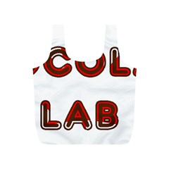 Choc Lab Canadian Flag In Name Full Print Recycle Bags (S)