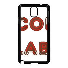 Choc Lab Canadian Flag In Name Samsung Galaxy Note 3 Neo Hardshell Case (Black)