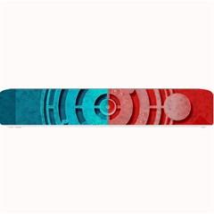 Vector Watch Texture Red Blue Small Bar Mats