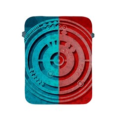 Vector Watch Texture Red Blue Apple Ipad 2/3/4 Protective Soft Cases
