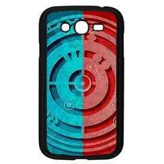 Vector Watch Texture Red Blue Samsung Galaxy Grand Duos I9082 Case (black)
