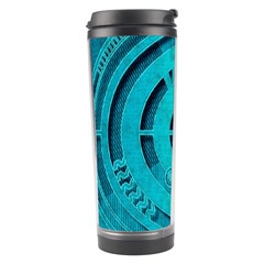 Vector Watch Texture Red Blue Travel Tumbler