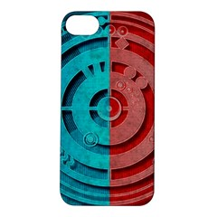 Vector Watch Texture Red Blue Apple iPhone 5S/ SE Hardshell Case