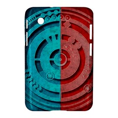 Vector Watch Texture Red Blue Samsung Galaxy Tab 2 (7 ) P3100 Hardshell Case