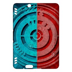 Vector Watch Texture Red Blue Kindle Fire Hdx Hardshell Case