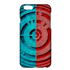 Vector Watch Texture Red Blue Apple Iphone 6 Plus/6s Plus Hardshell Case