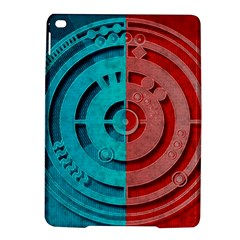 Vector Watch Texture Red Blue iPad Air 2 Hardshell Cases