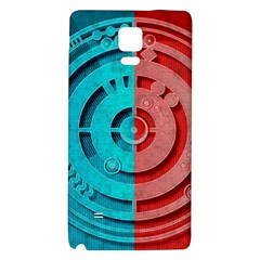 Vector Watch Texture Red Blue Galaxy Note 4 Back Case