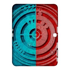 Vector Watch Texture Red Blue Samsung Galaxy Tab 4 (10 1 ) Hardshell Case