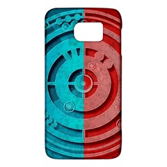 Vector Watch Texture Red Blue Galaxy S6