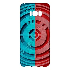 Vector Watch Texture Red Blue Samsung Galaxy S8 Plus Hardshell Case