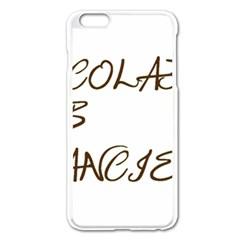 Choc Lab Fancier Apple iPhone 6 Plus/6S Plus Enamel White Case