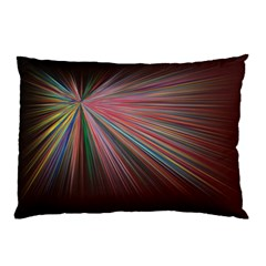 Pattern Flower Background Wallpaper Pillow Case (two Sides)