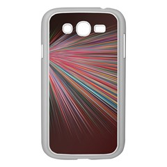 Pattern Flower Background Wallpaper Samsung Galaxy Grand Duos I9082 Case (white)