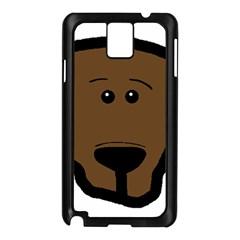 Choc Lab Head Samsung Galaxy Note 3 N9005 Case (Black)