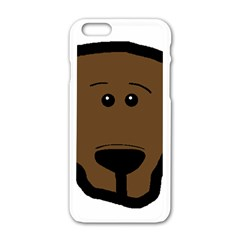 Choc Lab Head Apple iPhone 6/6S White Enamel Case