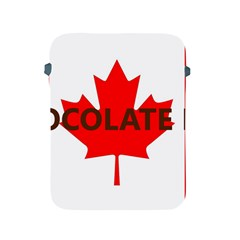 Choc Lab Name Canadian Flag Apple iPad 2/3/4 Protective Soft Cases