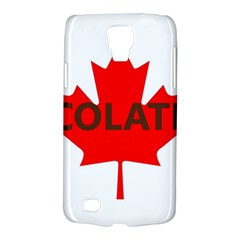 Choc Lab Name Canadian Flag Galaxy S4 Active