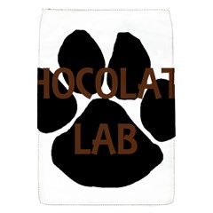 Choc Lab Name Mega Paw Flap Covers (S)