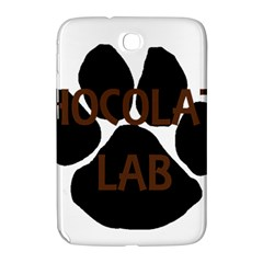 Choc Lab Name Mega Paw Samsung Galaxy Note 8.0 N5100 Hardshell Case