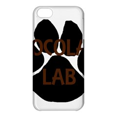 Choc Lab Name Mega Paw Apple iPhone 5C Hardshell Case