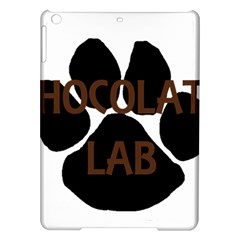 Choc Lab Name Mega Paw iPad Air Hardshell Cases
