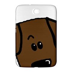 Chocolate Lab Peeping Dog Samsung Galaxy Note 8.0 N5100 Hardshell Case