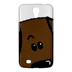 Chocolate Lab Peeping Dog Samsung Galaxy Mega 6.3  I9200 Hardshell Case