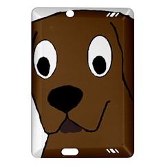 Chocolate Labrador Cartoon Amazon Kindle Fire HD (2013) Hardshell Case
